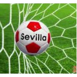 Balon Futbol Cuero Sevilla - Imagen 1