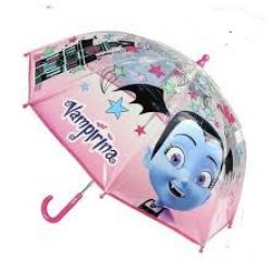 Paraguas Vampirina Disney Manual Transparente 45cm. - Imagen 1