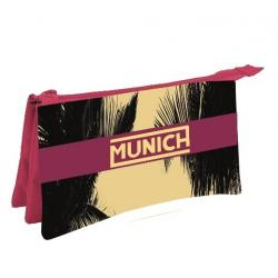 Portatodo Triple Munich Palmeras 21x12.5cm. - Imagen 1