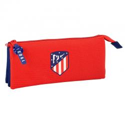 Portatodo Atletico Madrid Triple 22x3x10cm. - Imagen 1