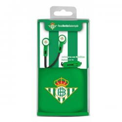Auriculares Real Betis Con Microfono - Imagen 1
