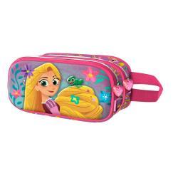 Portatodo Doble 3D Rapunzel 10x22,5x7cm. - Imagen 1