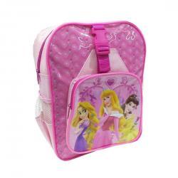 Mochila Con Bolsillos Princesas Disney33x23cm. - Imagen 1