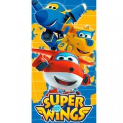 Toalla Super Wings Microfibra 70x140cm. - Imagen 1