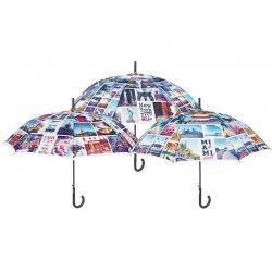Paraguas Perletti Automatico Antiviento 61cm 6UndsSurtidos - Imagen 1