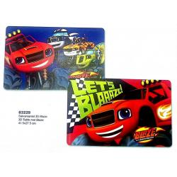 Salvamantel 3D Blaze and the Monster Machines 41.5x27.5cm - Imagen 1