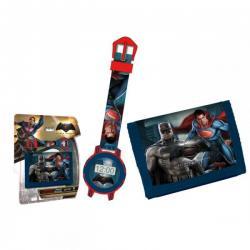 Set Reloj + Billetera Batman VS Superman - Imagen 1