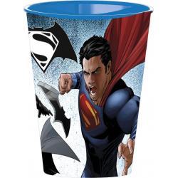 Vaso Superman VS Batman Plastico - Imagen 1