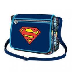 Bandolera Superman 30x21,5x8,5cm. - Imagen 1