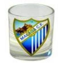 Pack 4 Vasos Chupito Corto Malaga C.F C/Regalo - Imagen 1