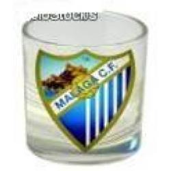 Pack 4 Vasos Chupito Largo Malaga C.F C/Regalo - Imagen 1