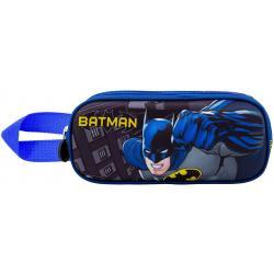 Portatodo 3D Batman Doble 10x22,5x7cm. - Imagen 1