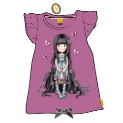 Camiseta Gorjuss Morado T.12 - Imagen 1