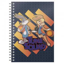 Cuaderno A5 Bugs and Lola Tune Squad Space Jam 2 - Imagen 1