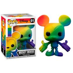 Figura POP Disney Pride Mickey Mouse Rainbow - Imagen 1