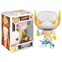 Figura POP DC Comics The Flash Godspeed Glow in the Dark Exclusive - Imagen 1