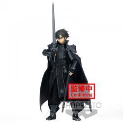 Figura Integrity Knight Kirito Alicization Rising Steel Sword Art Online 16cm - Imagen 1
