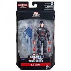 Figura U.S. Agent Falcon y el Soldado de Invierno Marvel 15cm - Imagen 1
