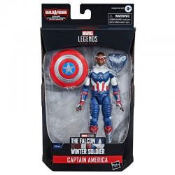 Figura Capitan America Falcon y el Soldado de Invierno Marvel 15cm - Imagen 1