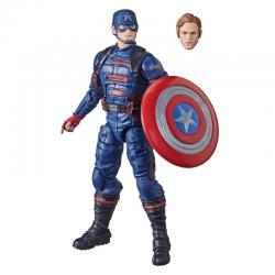 Figura Capitan America Falcon y el Soldado de Inverno Marvel 15cm - Imagen 1