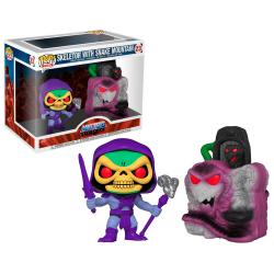 Figura POP Masters Of The Universe Snake Mountain with Skeletor - Imagen 1