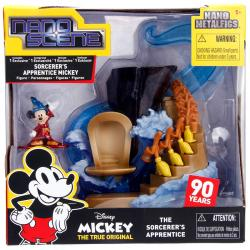 Figura Nano Metalfig Mickey The Sorcerers Apprentice Disney - Imagen 1