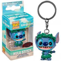 Llavero Pocket POP Disney Lilo and Stitch - Stitch In Hula Skirt Exclusive - Imagen 1