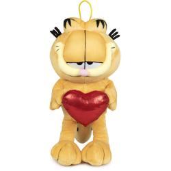 Peluche Garfield corazon 36cm - Imagen 1