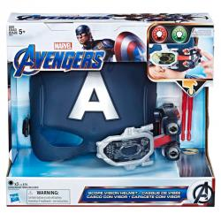 Casco visor Capitan America Marvel - Imagen 1