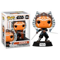 Figura POP Star Wars Mandalorian Ahsoka with Sabers - Imagen 1