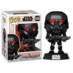 Figura POP Star Wars Mandalorian Dark Trooper Battle - Imagen 1