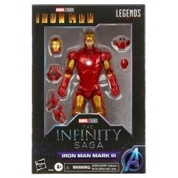 Figura Iron Man Mark II Iron Man The Infinity Saga Marvel Legends 15cm - Imagen 1