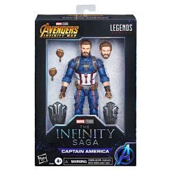 Figura Capitan America Marvel Legends 15cm - Imagen 1