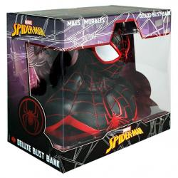 Busto hucha Miles Morales Spiderman Marvel 20cm - Imagen 1