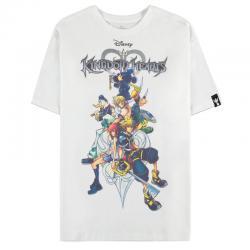 Camiseta mujer Kingdom Family Kingdom Hearts Disney - Imagen 1