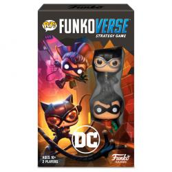 Juego mesa Ingles POP Funkoverse DC Comics  2fig - Imagen 1