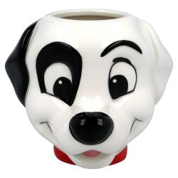 Taza 3D 101 Dalmatas Disney Ceramica 410ml. - Imagen 1