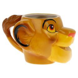 Taza 3D Simba Rey Leon Ceramica 410ml. - Imagen 1