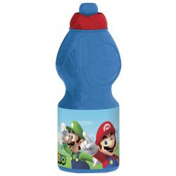 Botella Plastico Super mario 400 ML. - Imagen 1