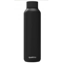 Botella Acero Inoxidable Jet Black Quokka 630ml - Imagen 1