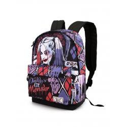Mochila Harley Quinn Escuadron Suicida DC Comics 42x30x20cm. - Imagen 1