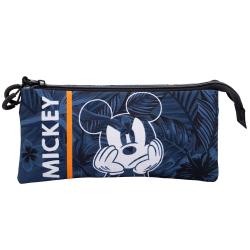 Portatodo Triple Mickey Disney 11x23x5cm. - Imagen 1