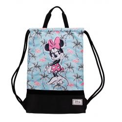 Saco Mochila Minnie Disney 49x34x1cm. - Imagen 1