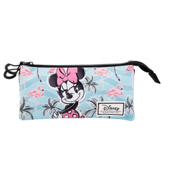 Portatodo Triple Minnie Disney 11x23x5cm. - Imagen 1