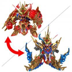 Figura Model Kit Wukong Impulse SD Gundam World Heroes - Imagen 1