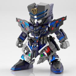Figura Model Kit Verde Buster Team Member SD Gundam World Heroes - Imagen 1
