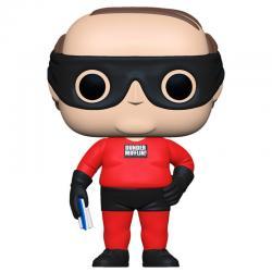 Figura POP The Office Kevin as Dunder Mifflin Superhero - Imagen 1