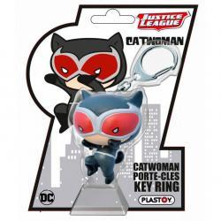 Llavero Catwoman Chibi Liga de la Justicia DC Comics - Imagen 1
