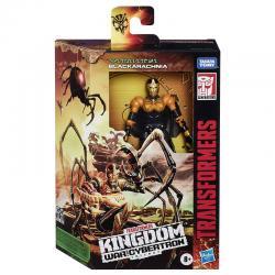 Figura Black Arachnia War For Cybertron Kingdom Transformers 14cm - Imagen 1