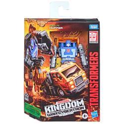 Figura Huffer War For Cybertron Kingdom Transformers 14cm - Imagen 1
